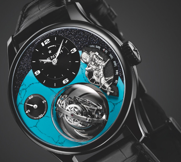 ZENITH: Academy Christophe Colomb Tribute To Felix Baumgartner